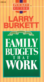 Family Budgets That Work