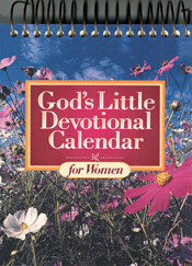 God's Little Devotional Calendar for Women