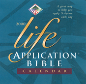 Life Application Bible 2000 Calendar