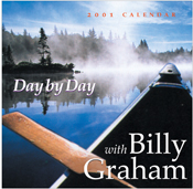 Billy Graham Day by Day 2001 Calendar