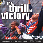 The Thrill of Victory 2001 Calendar
