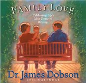 James Dobson--Family Love 2001 Calendar