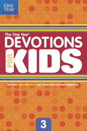 The One Year Devotions for Kids #3
