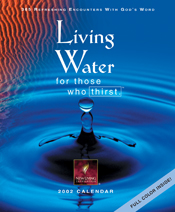 Living Water for Those Who Thirst 2002 Calendar