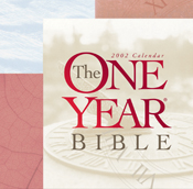 The One Year Bible 2002 Calendar
