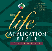Life Application Bible 2002 Calendar