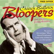 Church Bulletin Bloopers 2003 Calendar