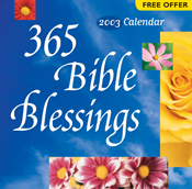 365 Bible Blessings 2003 Calendar