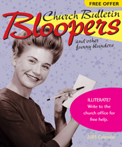 Church Bulletin Bloopers 2005 Calendar