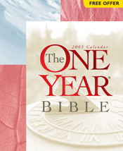 The One Year Bible 2005 Calendar