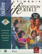 QuickVerse Multimedia Life Application Bible CD-ROM