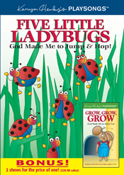 Five Little Ladybugs DVD Bonus Pack