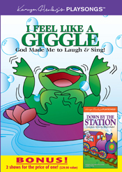 I Feel Like a Giggle DVD Bonus Pack