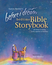 Before I Dream Bedtime Bible Storybook w/CD