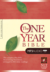 The One Year Bible NLT (MP3)
