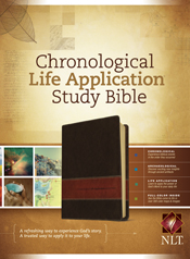 Chronological Life Application Study Bible NLT, TuTone