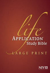 Life Application Study Bible NIV, Large Print