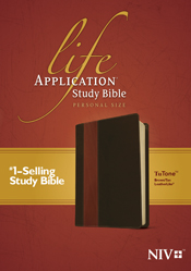 Life Application Study Bible NIV, Personal Size TuTone