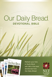 Our Daily Bread Devotional Bible NLT