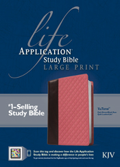 Life Application Study Bible KJV, Large Print, TuTone