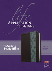 Life Application Study Bible NKJV, TuTone