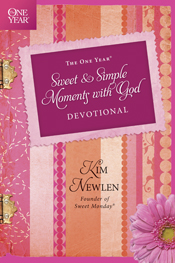 http://www.tyndale.com/The-One-Year-Sweet-and-Simple-Moments-with-God-Devotional/9781414373324#.U9p9BmNCyQY