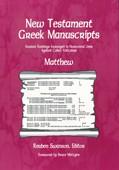 Cover: New Testament Greek Manuscripts: Matthew