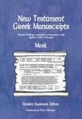Cover: New Testament Greek Manuscripts: Mark