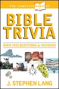 Cover: The Complete Book of Bible Trivia