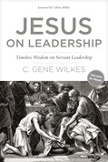 Cover: Jesus on Leadership