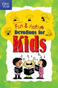 Cover: The One Year Fun & Active Devotions for Kids