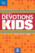 Cover: The One Year Devotions for Kids #3