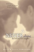 Cover: Never Alone Devotions for Couples