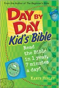 Cover: Day by Day Kid's Bible
