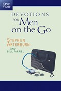 Cover: The One Year Devotions for Men on the Go