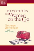 Cover: The One Year Devotions for Women on the Go
