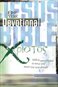 Cover: The One Year Jesus Bible Devotional