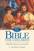 Cover: The One Year Bible for Children