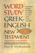 Cover: Word Study Greek-English New Testament