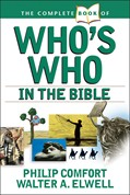 Cover: The Complete Book of Who's Who in the Bible