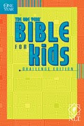 Cover: The One Year Bible for Kids, Challenge Edition NLT