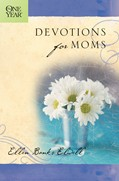 Cover: The One Year Devotions for Moms