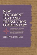 Cover: New Testament Text and Translation Commentary