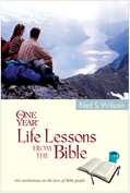 Cover: The One Year Life Lessons from the Bible