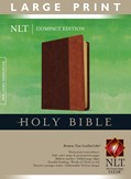 Cover: Compact Edition Bible NLT, Large Print