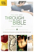 Cover: The One Year Through the Bible Devotional