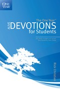 Cover: The One Year Alive Devotions for Students