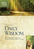 Cover: The One Year Daily Wisdom