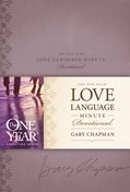 Cover: The One Year Love Language Minute Devotional