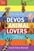 Cover: The One Year Devos for Animal Lovers